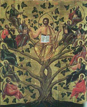 Ісус Христос-виноградна лоза